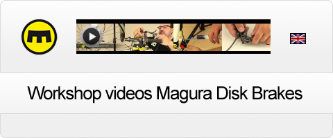 Magura Workshop videos Disc Brakes in english