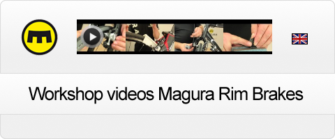 Magura Workshop videos Rim Brakes in english
