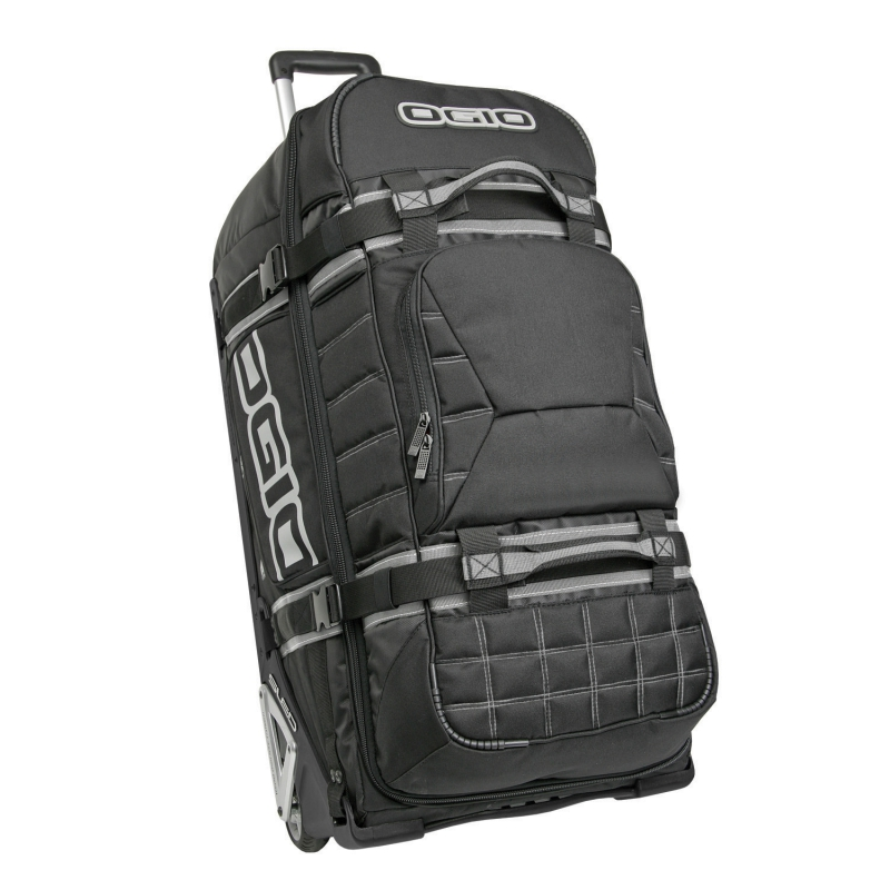 OGIO Wheeled Gear Bag RIG 9800 - 123 L -Stealth/Schwarz, Stoke, Toucan, Bolt, Hex or Rock and Roll